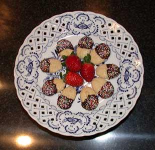poderes unidos - galletas de mantequilla y chocolate para ritual pagano