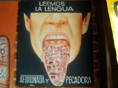 poderes unidos - Lectura de la lengua en Chapinero (Colombia)