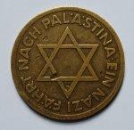 poderes unidos - Medalla Nazi Sionista