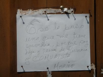 poderes unidos - Respuesta a brujería en puerta de casa (Cuba)