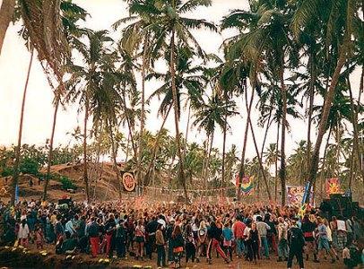 poderes unidos - fiesta en Goa