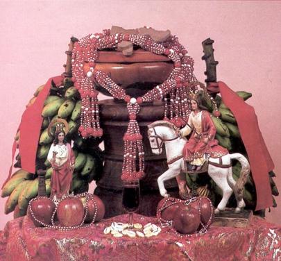 poderes unidos - Altar Santería_01