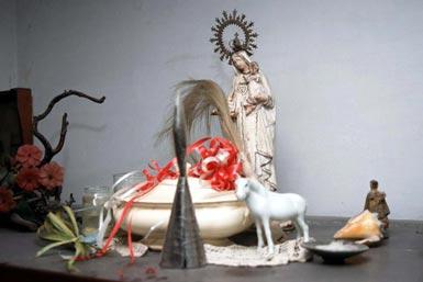 poderes unidos - Altar Santería_04