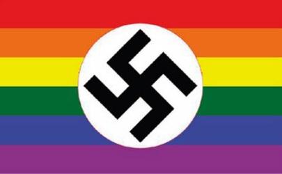 poderes unidos - bandera nazi gay_01